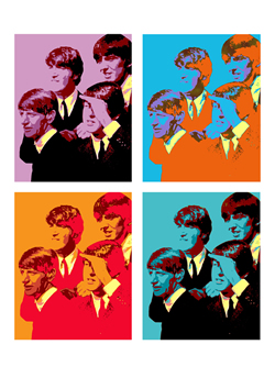 Andie Airfix The Beatles FAB 4x4